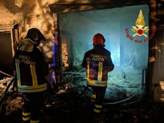 Incendio azienda ittica nei pressi di Baschi, ingenti i danni