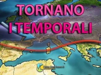 Perturbazione in arrivo sulle regioni settentrionali, meglio in Umbria