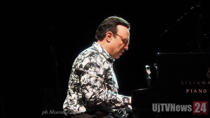 Michel Camilo, il pianista dominicano all'Arena di Umbria Jazz