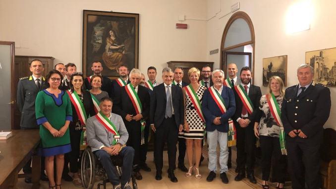 Il Prefetto Claudio Sgaraglia ha incontrato i sindaci neo eletti