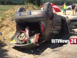 Incidente stradale a Solfagnano Parlesca lungo la Tiberina nord, una ferita  Fotogallery