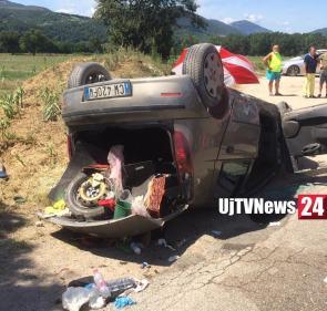Incidente stradale a Solfagnano Parlesca lungo la Tiberina nord, una ferita |Fotogallery