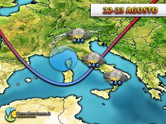 Verso un peggioramento del tempo in Italia, ecco dettagli, previsioni meteo