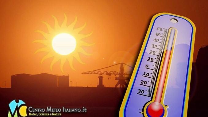 Tregua del maltempo, torna l'alta pressione con temperature oltre i 30 gradi