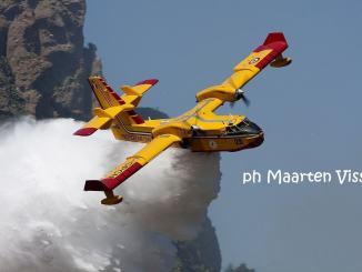 Oltre 500 richieste di intervento da inizio estate per la flotta italiana anti incendi