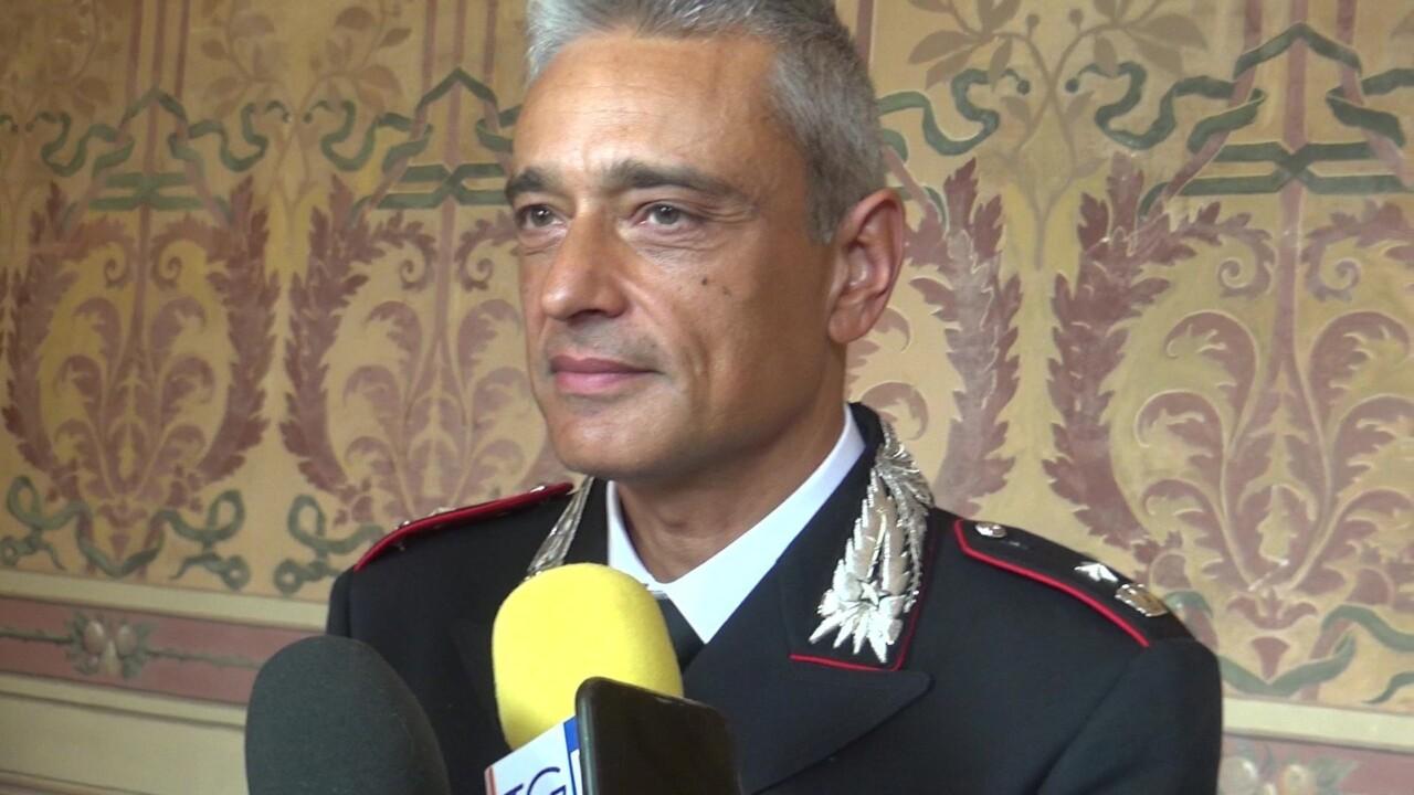 Carabinieri, Alessandro Pericoli Ridolfini nuovo comandante compagnia di Foligno
