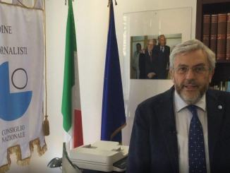 Lezione sul giornalismo del presidente dell'Ordine, Carlo Verna