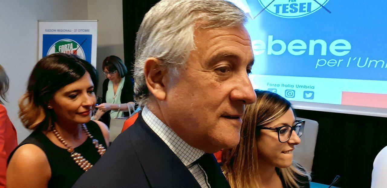 Antonio Tajani, FI, ha incontrato RistoItalia associazione di ristoratori