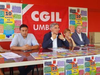 Elezioni Umbria, la Cgil presenta il suo decalogo per le candidate e i candidati