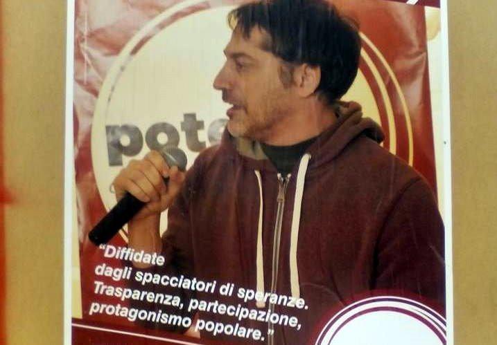 Elezioni Umbria, Emiliano Camuzzi, candidato presidente con Potere al Popolo