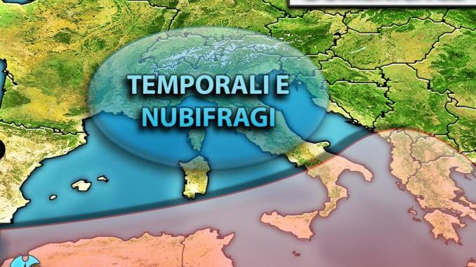 Domenica temporali e nubifragi, lo dice il Centro meteo italiano | Video
