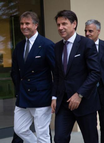 Brunello Cucinelli Giuseppe Conte