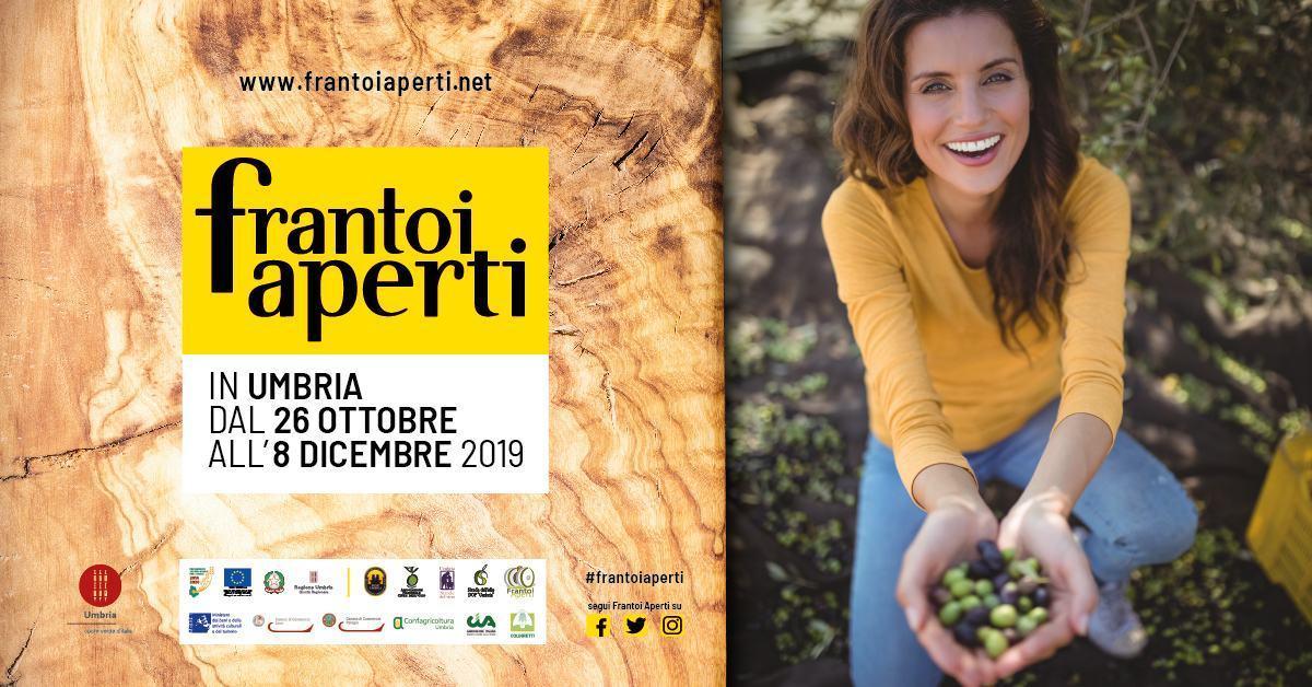 Al via la XXII Edizione di Frantoi Aperti dal 26 Ottobre all'8 Dicembre 2019