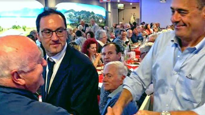 Nicola Zingaretti fa il tutto esaurito da Faliero