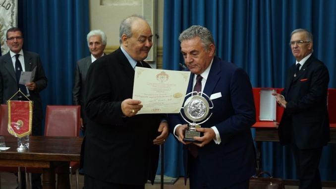 A Claudio Sciurpa il prestigioso premio internazionale 'Constantinus Magnus'