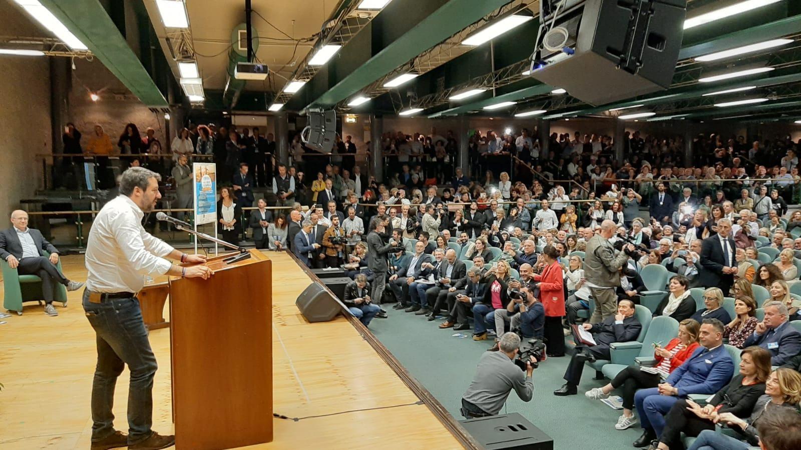 Manifesto Valoriale Umbria c'erano Salvini, Meloni e Berlusconi