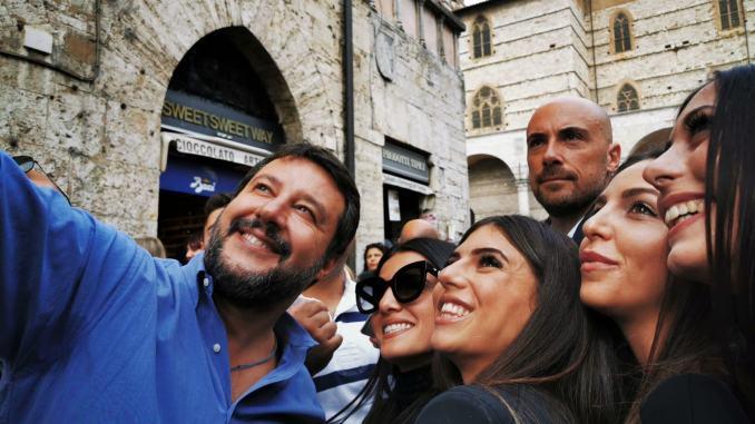 Il programma della visita in Umbria di Matteo Salvini