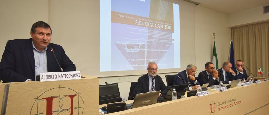 """seminario """"Gli affidamenti dei Servizi di Ingegneria e Architettura. Bandi tipo e progetto del SIA"""""""