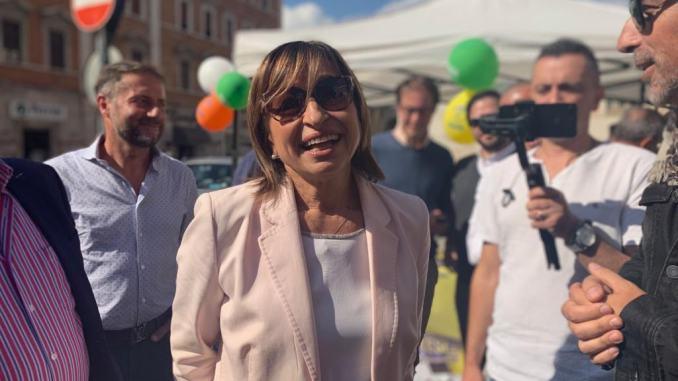 Elezioni Umbria, Donatella Tesei, visita a Spoleto e Deruta