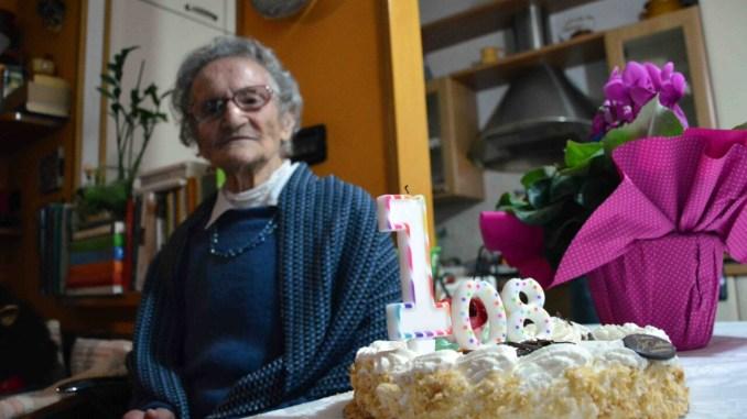 Nonna Luisa Zappitelli compie 108 anni, una donna straordinaria