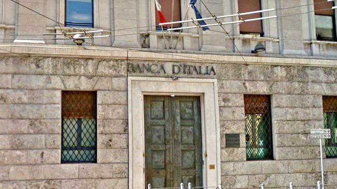 Bankitalia, causa terremoto -5% produzione e vendite cratere