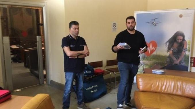Terni, tre defibrillatori donati per la Polizia municipale