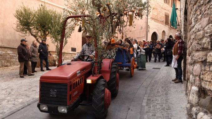 Festa dell'Olivo e della Bruschetta a Spello, dal15 al 17 novembre