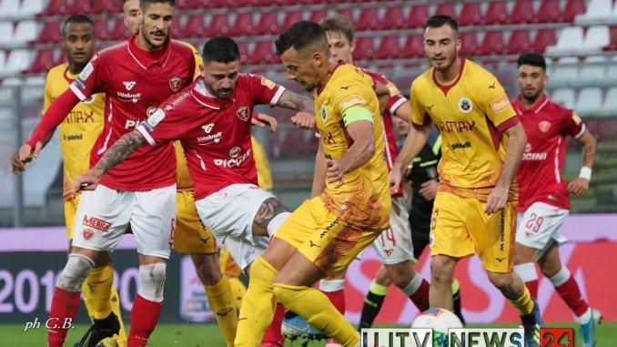 Calcio, serie B, Cittadella batte il Perugia calcio 2-0, gol di D'Urso e Diaw