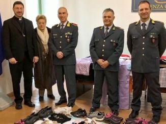 Guardia di Finanza e beneficenza donati a Caritas capi sequestrati