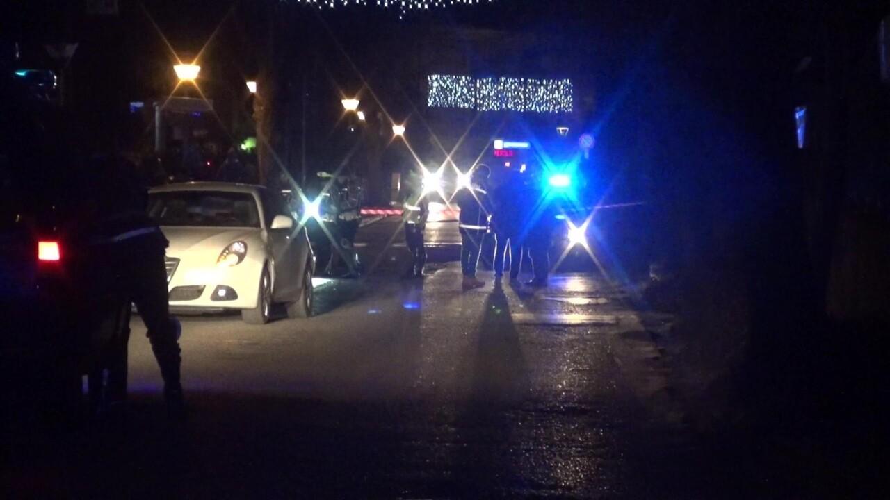 Incidente mortale Mantignana di Corciano, un pedone è stato investito ed è morto sul colpo