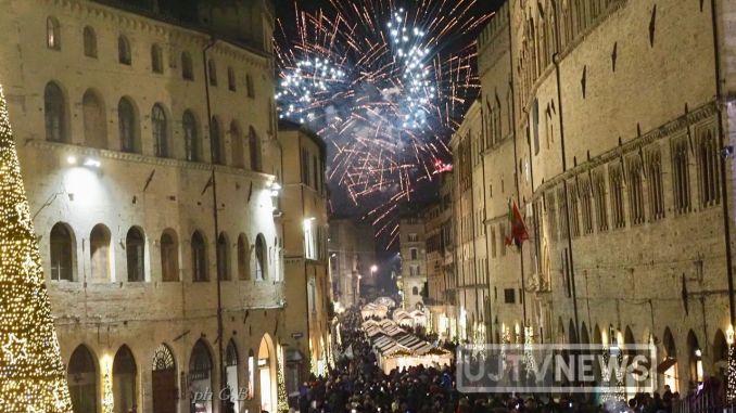 Capodanno a Perugia, Buon 2020 a tutti, i festeggiamenti in centro