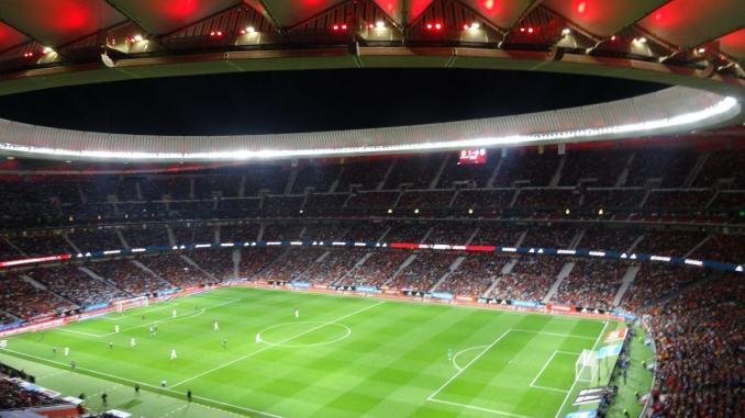 Rapaic e Nakata Wanda Metropolitano Madrid per Legendas della Spagna