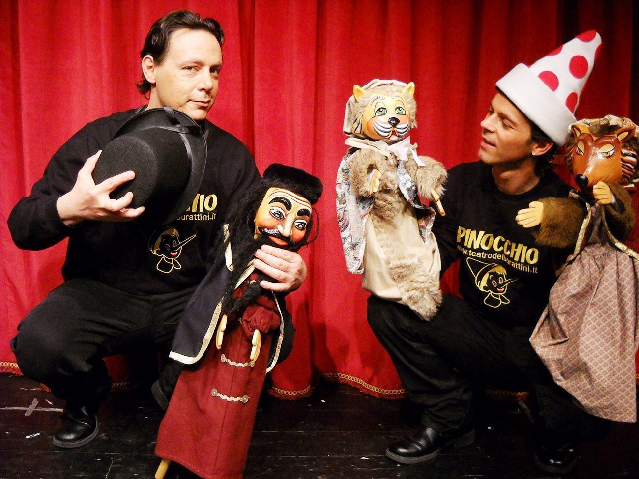 Pinocchio un burattino contro il bullismo sabato 11 e domenica 12 gennaio al Capitini