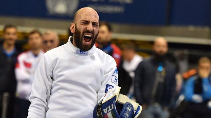 Coppa del mondo di Doha, spada maschile, terzo posto per Andrea Santarelli