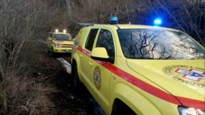 Endurista infortunato recuperato dal soccorso alpino e speleologico dell'Umbria