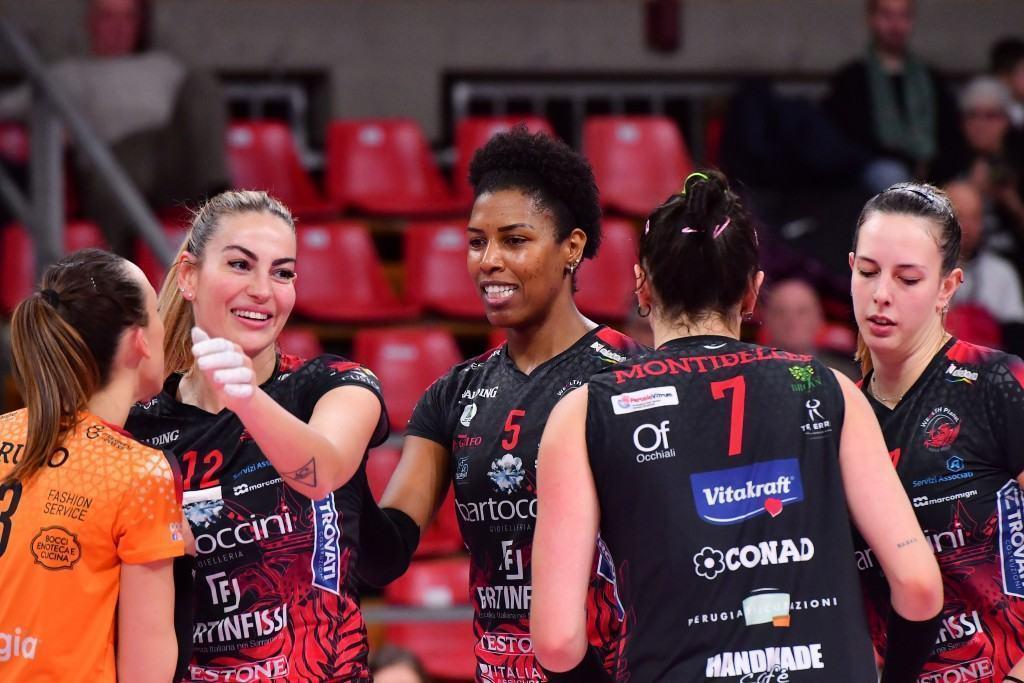 Bartoccini Fortinfissi Perugia grande volley in rosa torna al PalaBarton