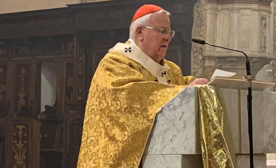 Positivo il cardinale Bassetti, è lievemente sintomatico, condizioni non preoccupanti