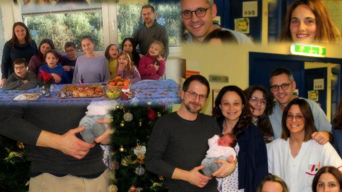 Guinness ospedale di Foligno, decimo figlio nato da quinto parto cesareo