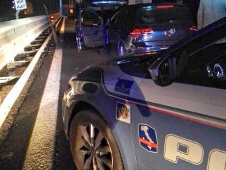 Incidente stradale in A1 quattro auto coinvolte, ci sono feriti non sarebbero gravi