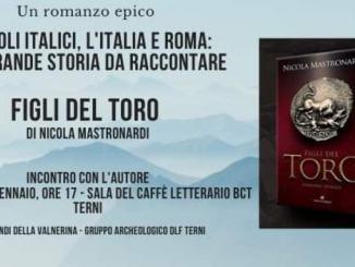 Figli del toro, il romanzo sull'epopea dei popoli italici mercoledì 8 gennaio