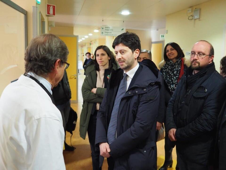 31 gennaio a Perugia arriva ministro della salute Roberto Speranza