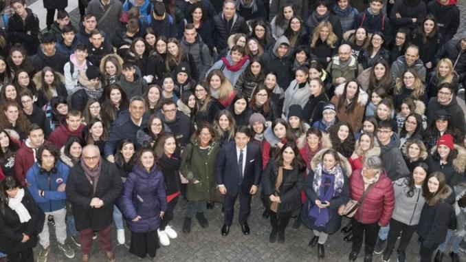 Terremoto, scuola Norcia, studenti a Roma ricevuti da Conte