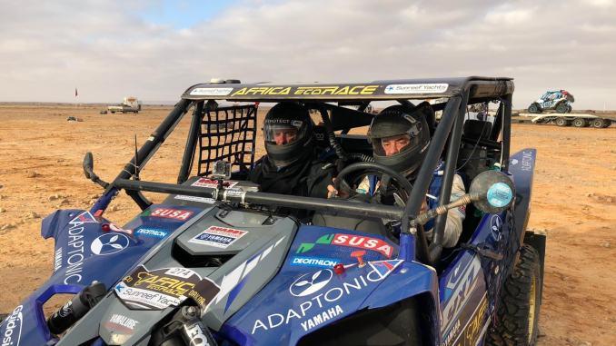 Africa Eco Race, il pilota disabile Gianluca Tassi primo italiano in classifica
