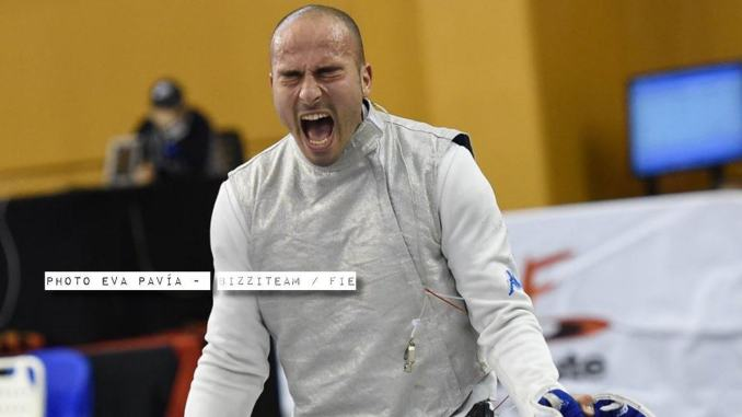 Alessio Foconi è terzo in Coppa del Mondo a Il Cairo, domenica la prova a squadre