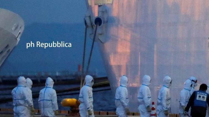 Coronavirus dramma su nave Diamond, intanto morti a 724, 86 più di ieri