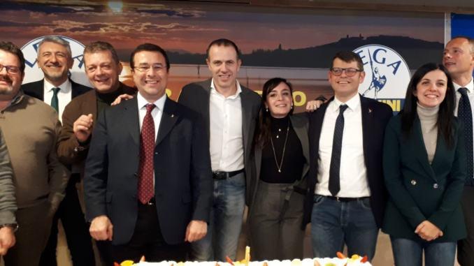 Il Senatore Stefano Candiani è tornato in Umbria, mega cena al Lago