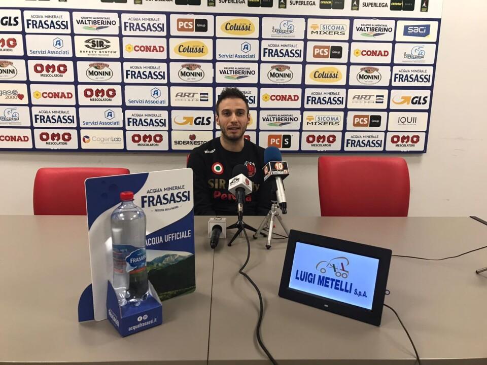 """Volley, Sir Safety, Max Colaci: """"A Perugia mi sento a casa"""""""