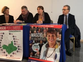 Maria Elisabetta Mascio presenta la sua candidatura alle suppletive in Senato