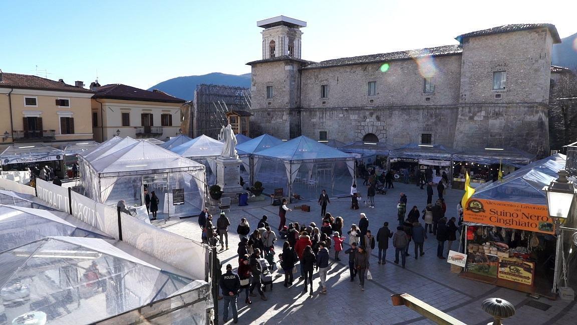 Nero Norcia presentazione 10 febbraio 2020 a Perugia, 57esima edizione