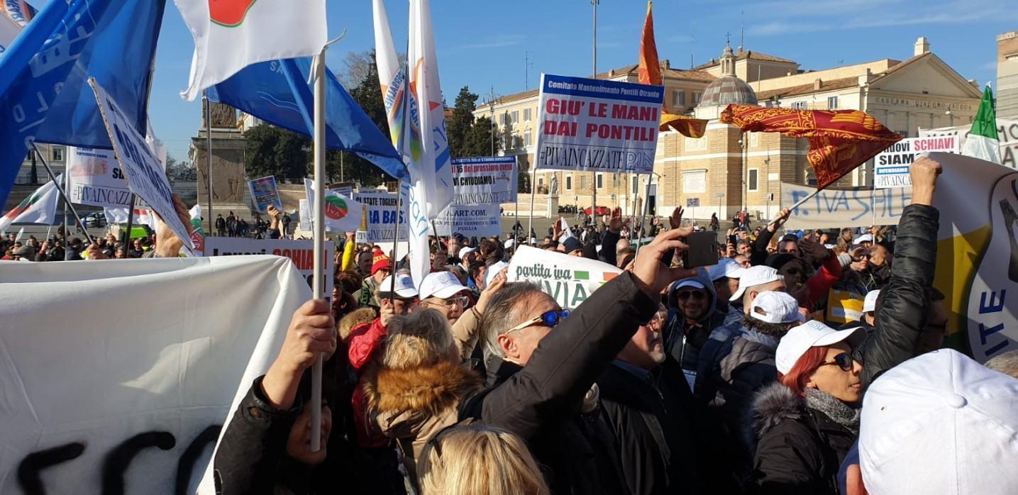 Partite Iva incazzate, si accende la protesta del movimento in Italia